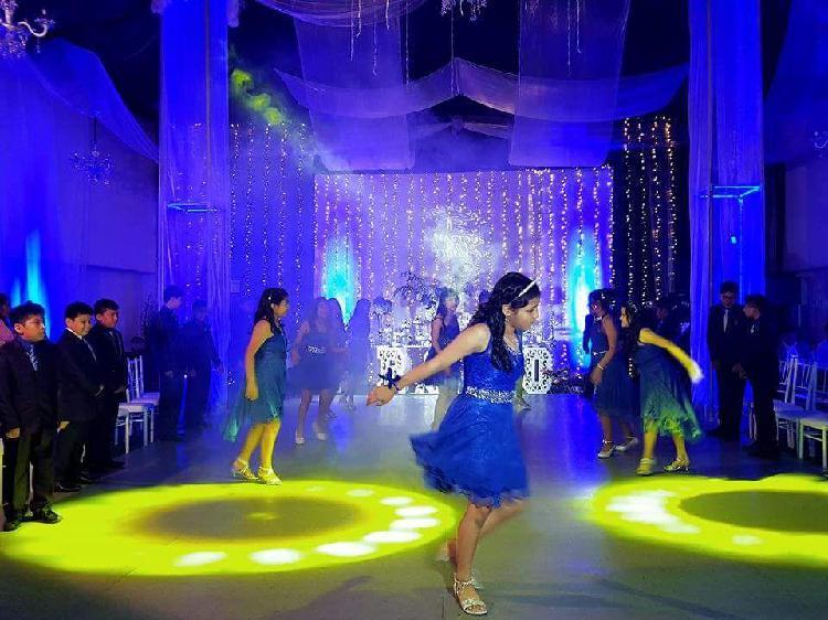 Luces y sonido dj en vivo matrimonios cumpleaños