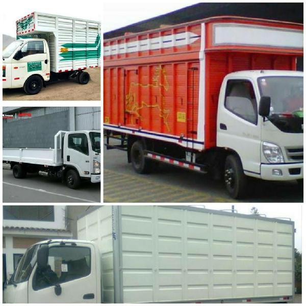 Mudanzas, transporte de carga y embalaje
