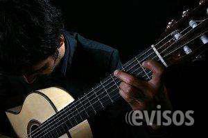 Profesor de guitarra clasica y popular a domicilio en lima