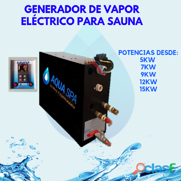 GENERADOR DE VAPOR ELÉCTRICO PARA SAUNA