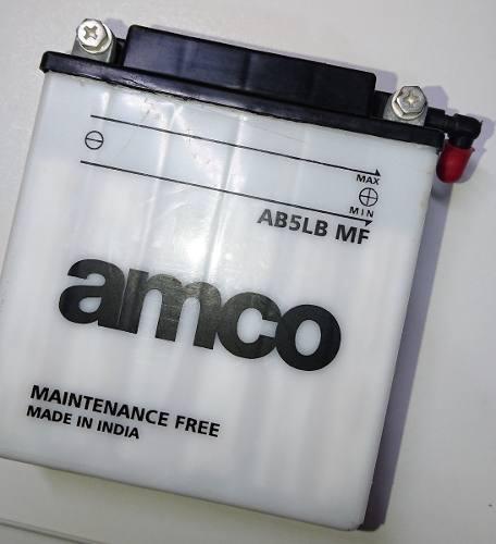 Bateria moto amco ab5lb mf discover 125 bajaj nueva
