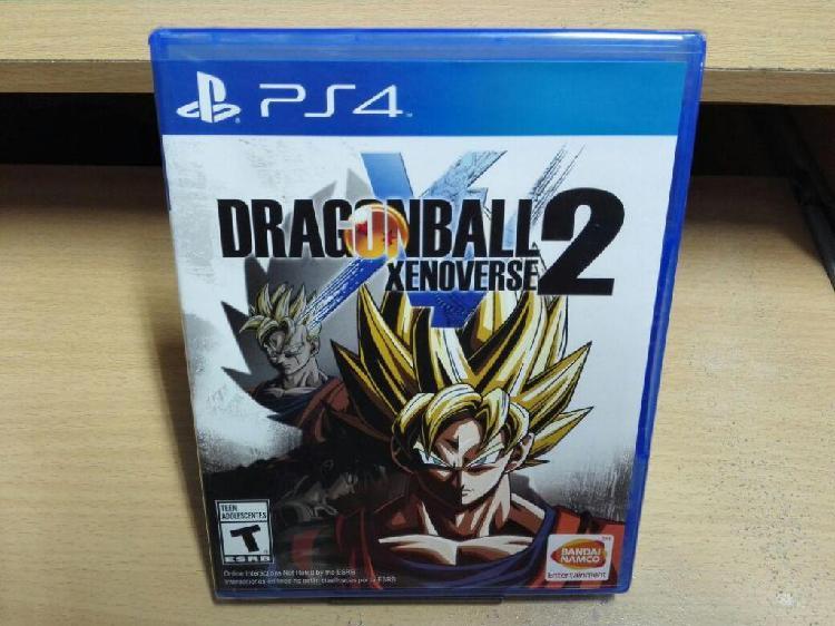 Dragon ball xenoverse 2 juego ps4 nuevo y sellado...