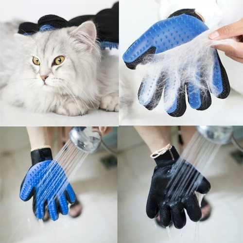 Guante cepillo gato conejo perro mascotas peinar animales