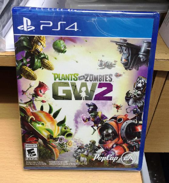 Plants vs zombies garden warfare 2 juego ps