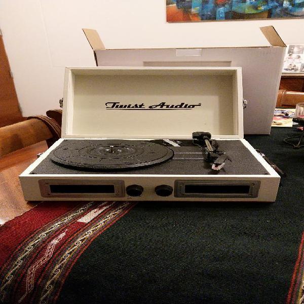 Tocadiscos twist audio vintage