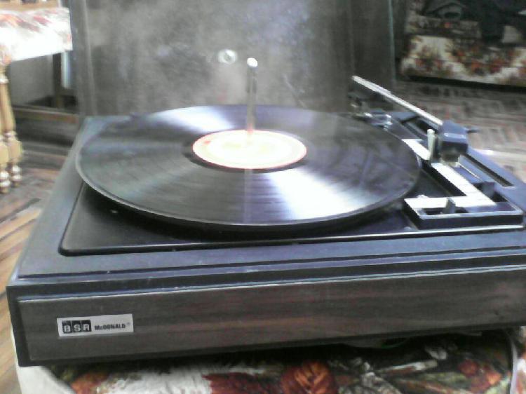 Tocadiscos vintage bsr mac donald