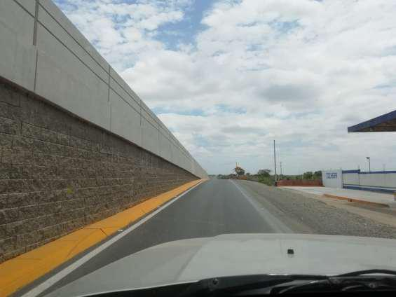 Venta de terrenos colindantes en panamericana norte,km 8 en