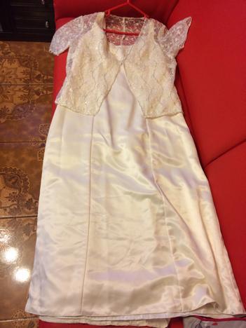 Vestido de novia para señora semi nuevo