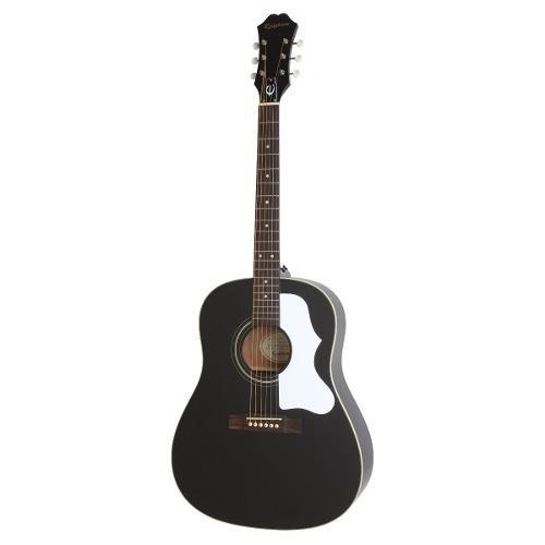 Guitarra acustica epiphone ej-45 ebony