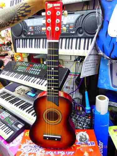 Guitarra acustica para niños star music excelente sonido