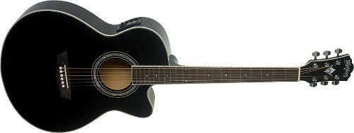 Guitarra electroacústica washburn ea12b