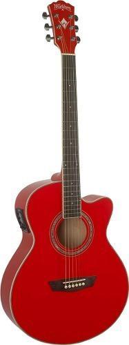 Guitarra electroacústica washburn ea12r