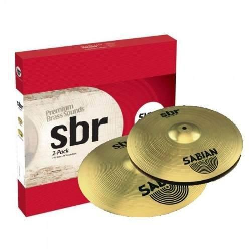 Juego platillos sabian sbr 2-pack sbr5002