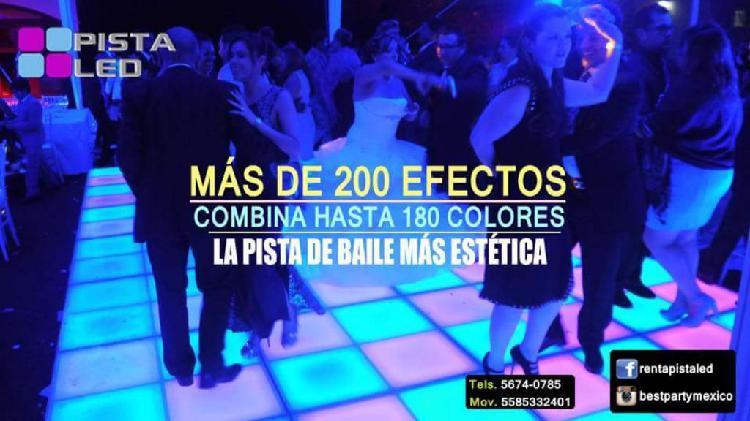 Pista de baile led ara eventos y bares