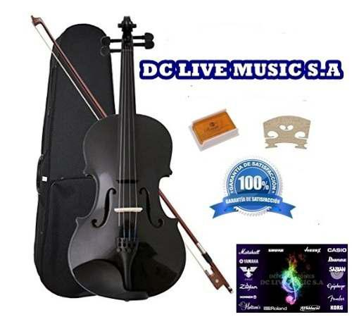 Violin negro mate