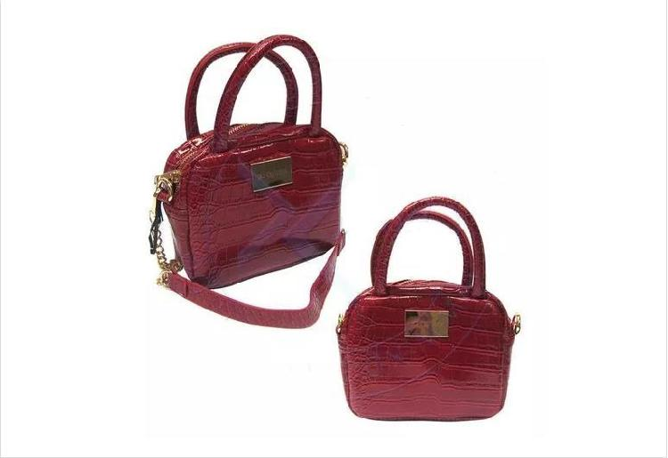 3969f6e3f Cartera bolso queen rojo maletín mujer vestido estilo cuero