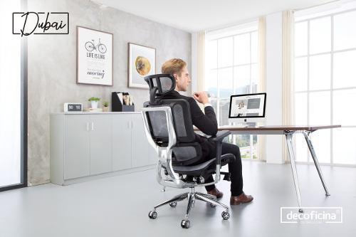 Silla ergonómica para oficina mod. dubai decoficina
