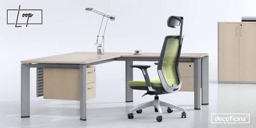 Silla ergonómica para oficina mod. loop decoficina