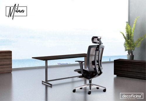 Silla ergonómica para oficina mod. milan decoficina