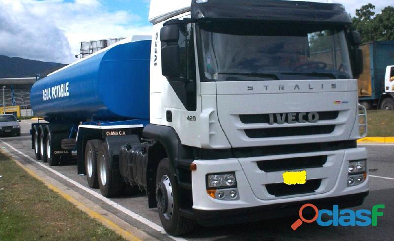 Alquiler de camión cisterna de agua