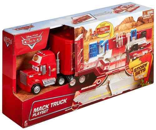 Cars disney pixar camion mack playset trailer mack crh
