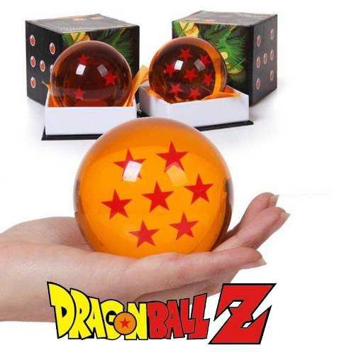 Dragon ball z, esferas tamaño real, bandai 7.6 cm.
