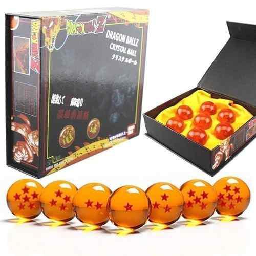 Esferas del dragón ball z de 4.5cm set de 7 original bandai