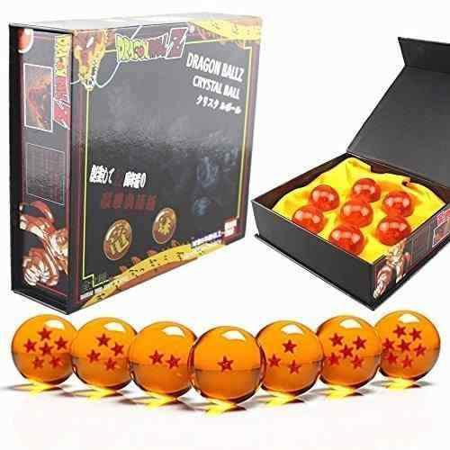 Esferas del dragón set 7 piezas 4.5 cm bandai dragon ball z
