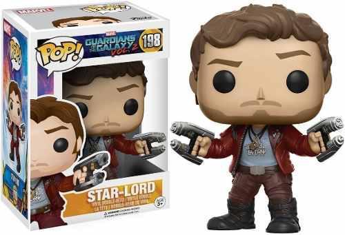 Funko pop! marvel: stard lord guardianes de la galaxia