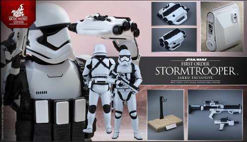 Hot toys stormtrooper jakku exclusive movie promo