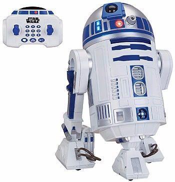 R2d2 r2-d2 robot interactivo control remoto