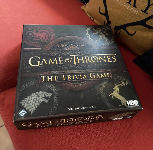 Game of thrones juego de mesa trivia