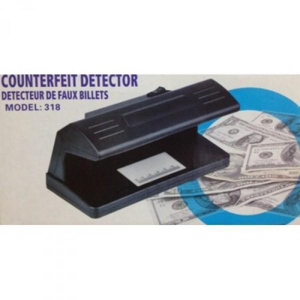 Detector de billetes falsos a pilas
