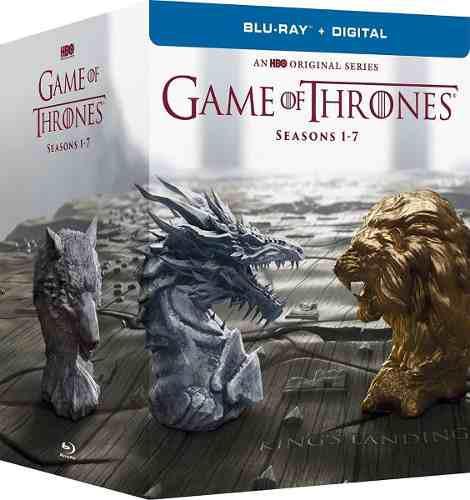 Game of thrones temporadas 1-7 (blu-ray)