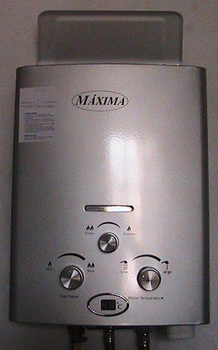 Termas a gas natural de 5.5 litros tipo a