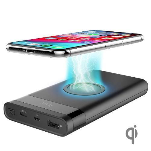 Batería externa iluv con carga inalámbrica iphone 8 x xs
