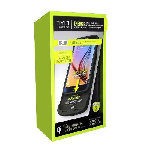 Galaxy s6 power case bateria 3400 carga inalámbrica tylt