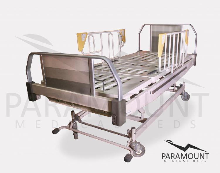 Cama clinica electrica de 3 motores dual marca paramount bed