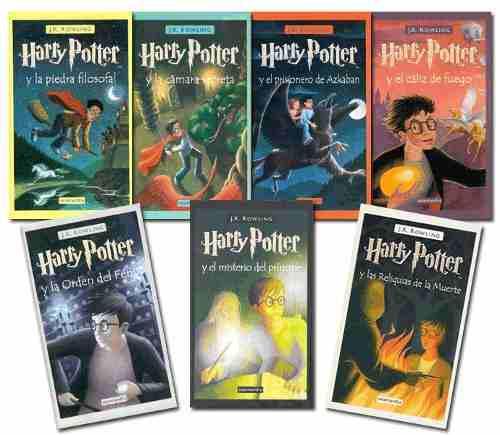 Colección harry potter + 15 libros edicion pdf