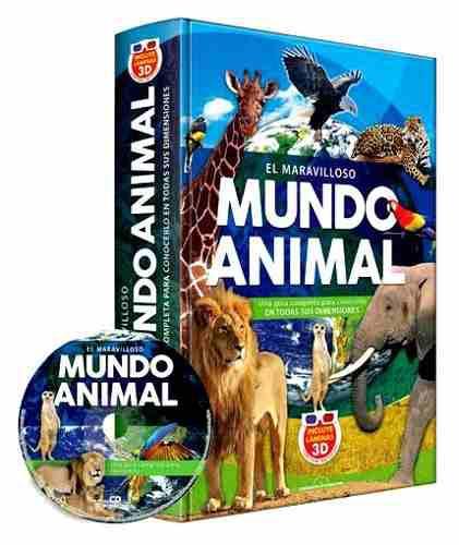 Libro el maravilloso mundo animal 3d animales