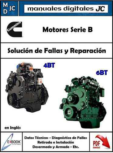 Manual Motor Cummins 4bt 6bt (3.9 5.9) - Ford Cargo Original
