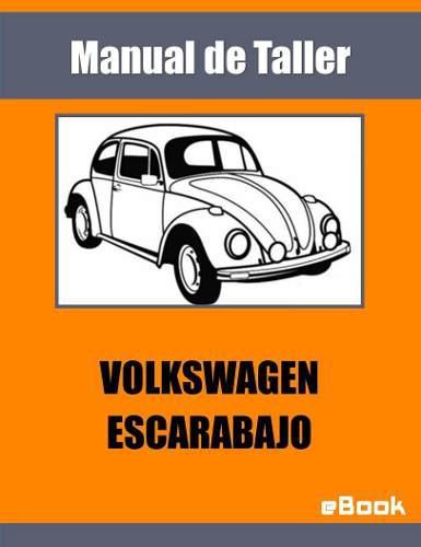 Manual taller volkswagen escarabajo español motor repuestos