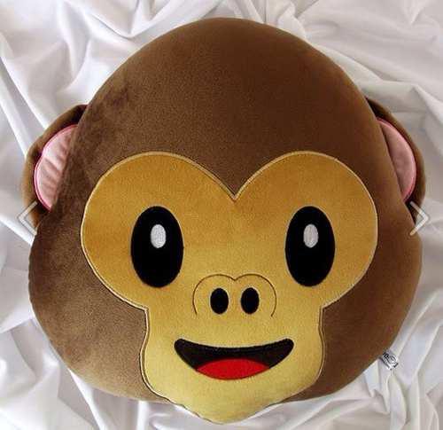 Emoji mono monito emoticons emoticon cojin almohada peluche
