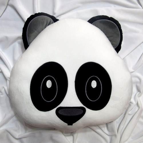 Emoji oso panda emoticons emoticon cojin almohada peluche