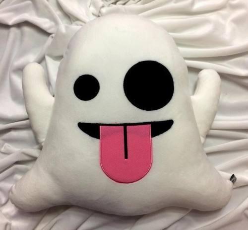 Fantasma emoji cojines emoticon cojin almohada peluche