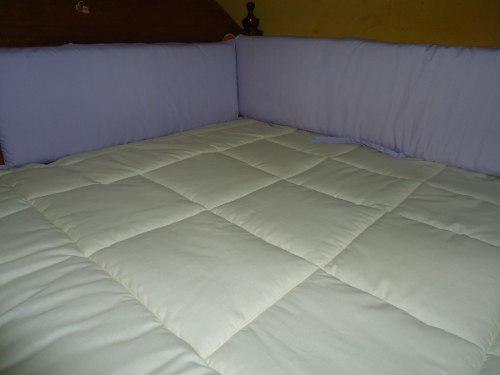 Protectores laterales acolchados para cuna y cama cuna