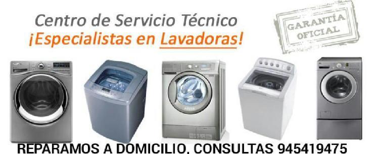 Servicio tecnico lavadoras secadoras etc