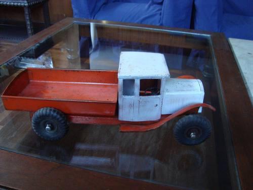 Antiguo juguete camion de lata ingles años 50
