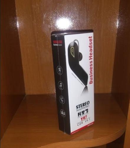 Auricular bluetooth 4.1 negro original-nuevo sellado
