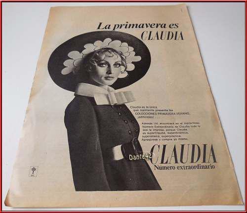 Dante42 publicidad antigua retro mujer vestido epoca 1961